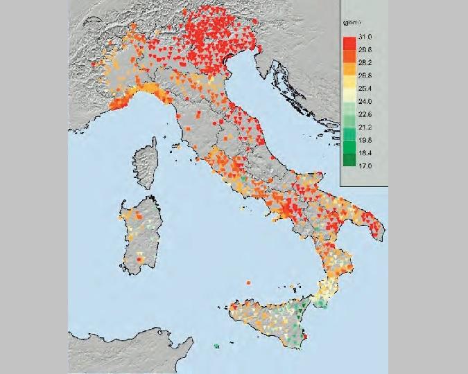 Cartina Tematica Spagna.Il Tema Siccita Sul Nuovo Numero Di Ideambiente Citta Clima
